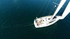 monohull sailboat